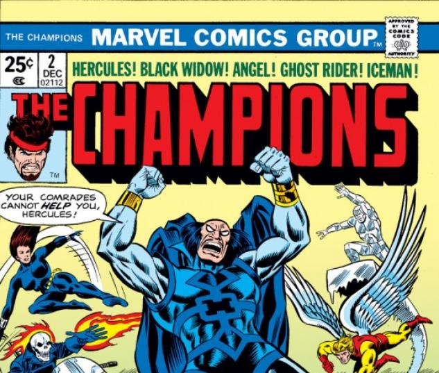 CHAMPIONS #2 COVER