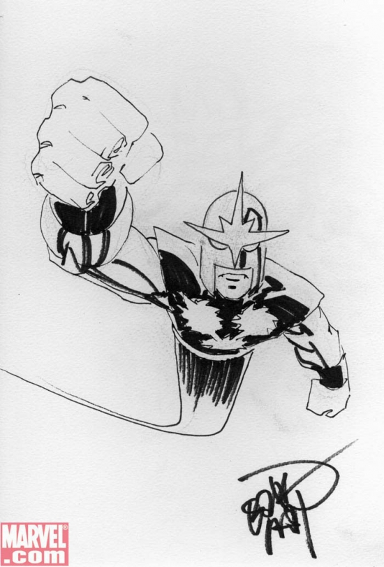 Nova by Erik Larsen from Ben Morse's personal collection