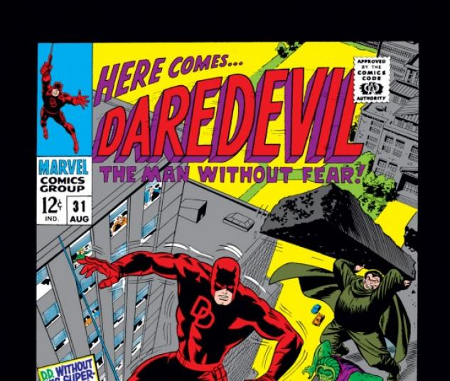 DAREDEVIL #31 COVER