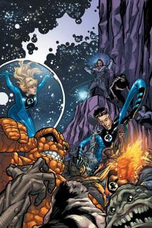 Marvel Adventures Fantastic Four Vol. 4: Cosmic Threats (Digest)