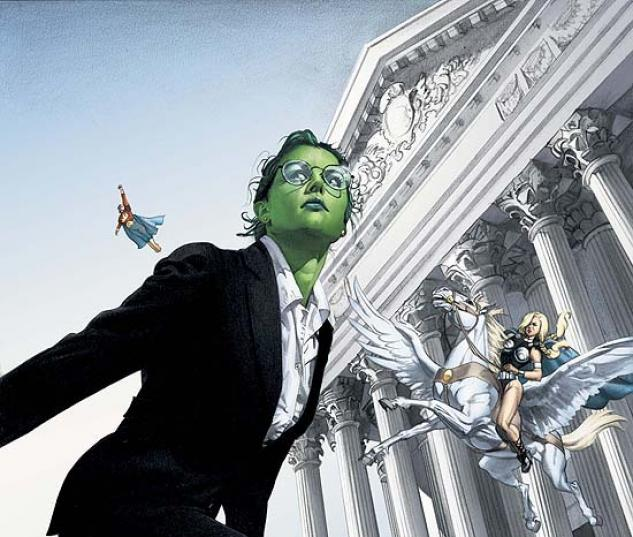 SHE-HULK (2004) #7 COVER