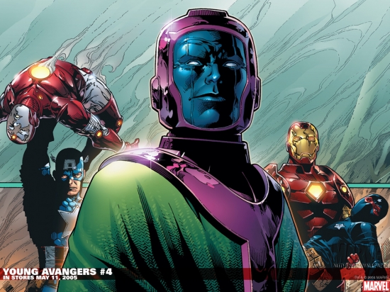 Young Avengers (2005) #4 Wallpaper