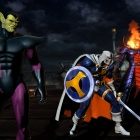 Marvel vs. Capcom 3 screenshot: Taskmaster, Dormammu and Super-Skrull