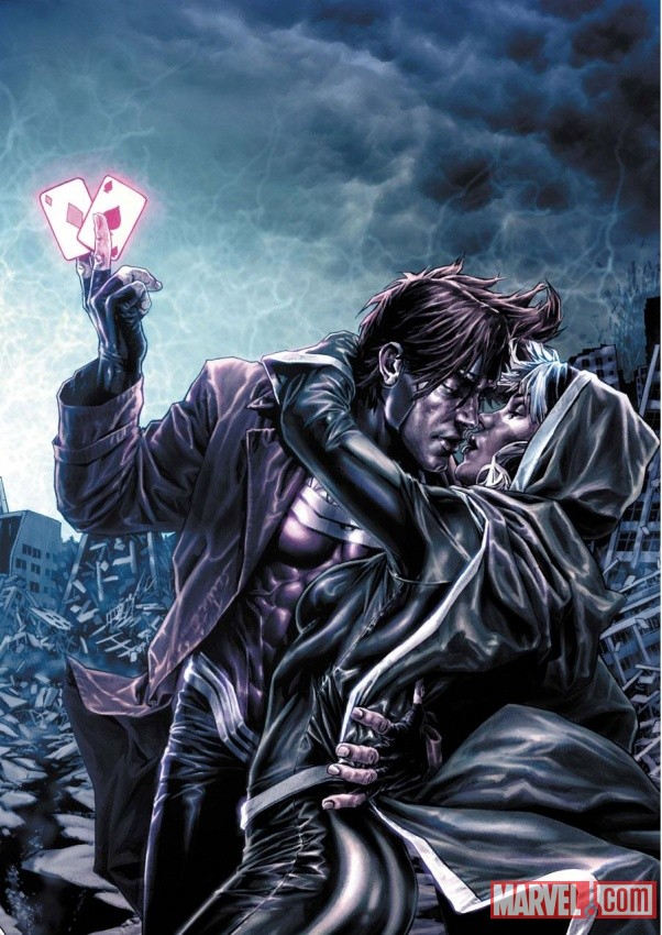 Gambit & Rogue by Lee Bermejo