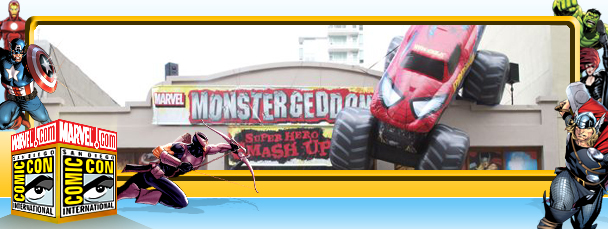 Marvel Monstergeddon Roars Through Comic-Con
