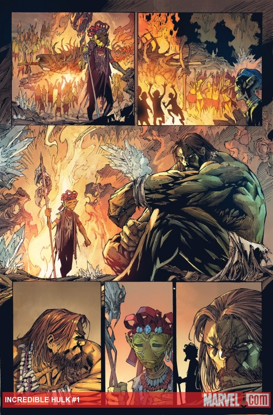 Incredible Hulk (2011) #1 preview art by Marc Silvestri