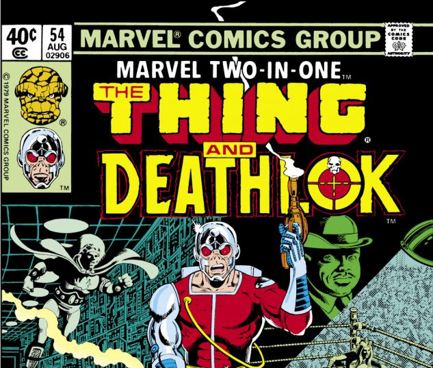 Marvel Two-in-One (1974) #54 Cover