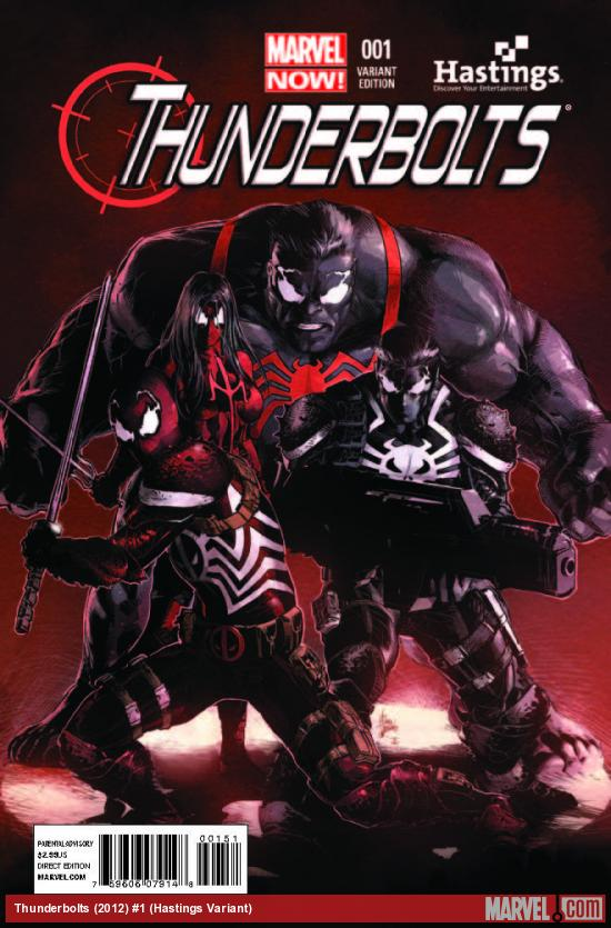 THUNDERBOLTS 1 HASTINGS VARIANT (NOW)