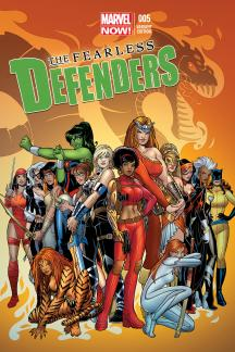 Fearless Defenders #5  (Connor Variant)