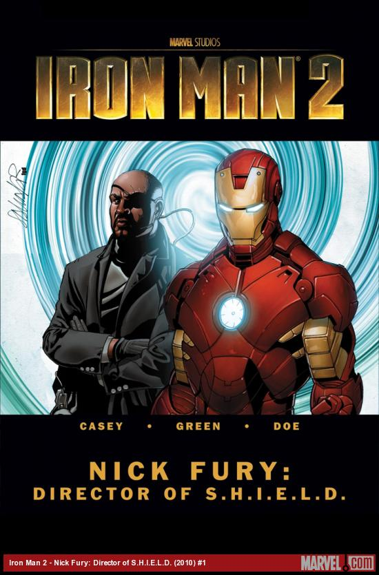 Iron Man 2 - Nick Fury: Director of S.H.I.E.L.D. #1