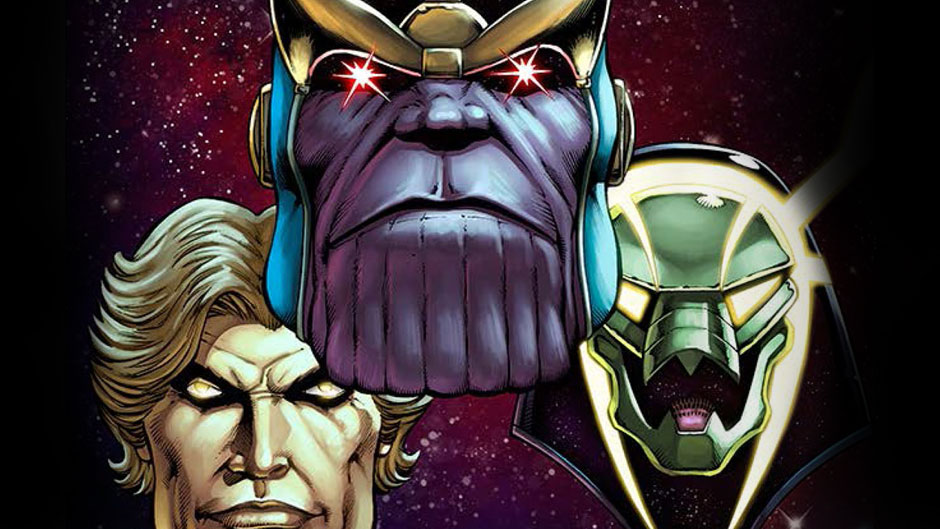 Thanos: The Infinity Relativity cover by Jim Starlin