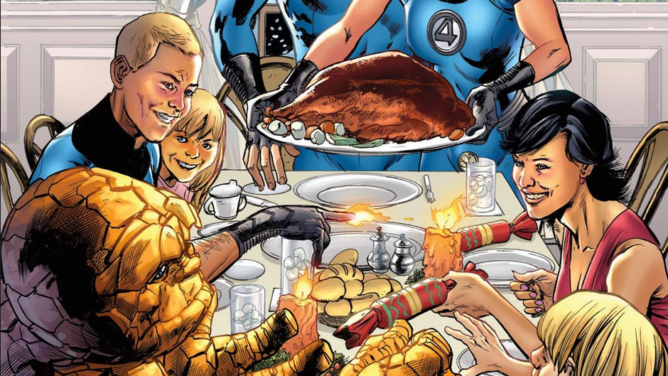 Thanksgiving the Marvel Way