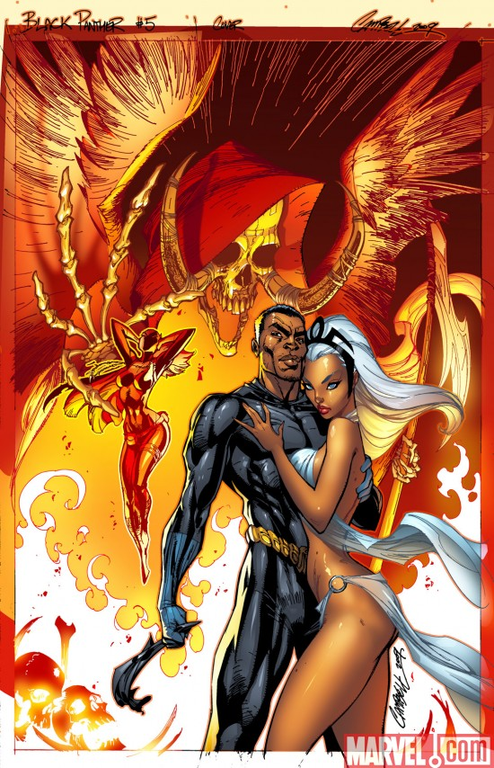 BLACK PANTHER #5 cover by J. Scott Campbell   Marvel.com