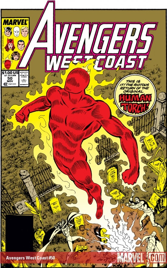Avengers West Coast #50