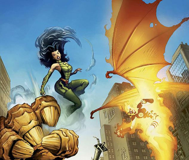 FANTASTIC FOUR: HOUSE OF M (2007) #1 COVER