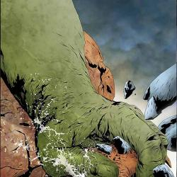 HULK &amp; THING: HARD KNOCKS (2004) #1 COVER