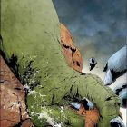 HULK & THING: HARD KNOCKS (2004) #1 COVER
