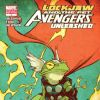 LOCKJAW AND THE PET AVENGERS UNLEASHED #4 variant cover by Skottie Young