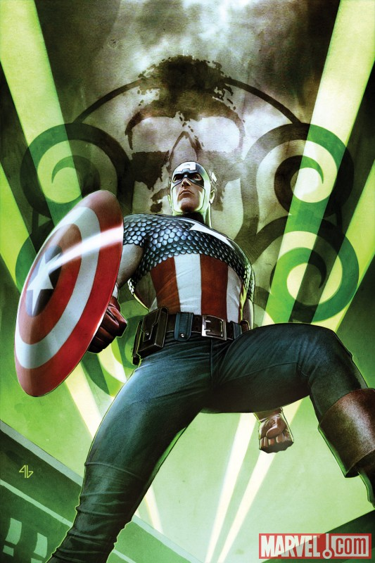 CAPTAIN AMERICA: HAIL HYDRA #1 cover by Adi Granov