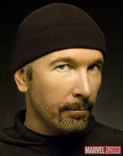The Edge (photo by Kevin Mazur)