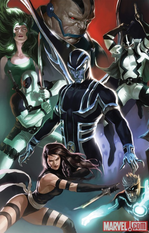 UNCANNY X-FORCE #1 variant cover by Marko Djurdjevic