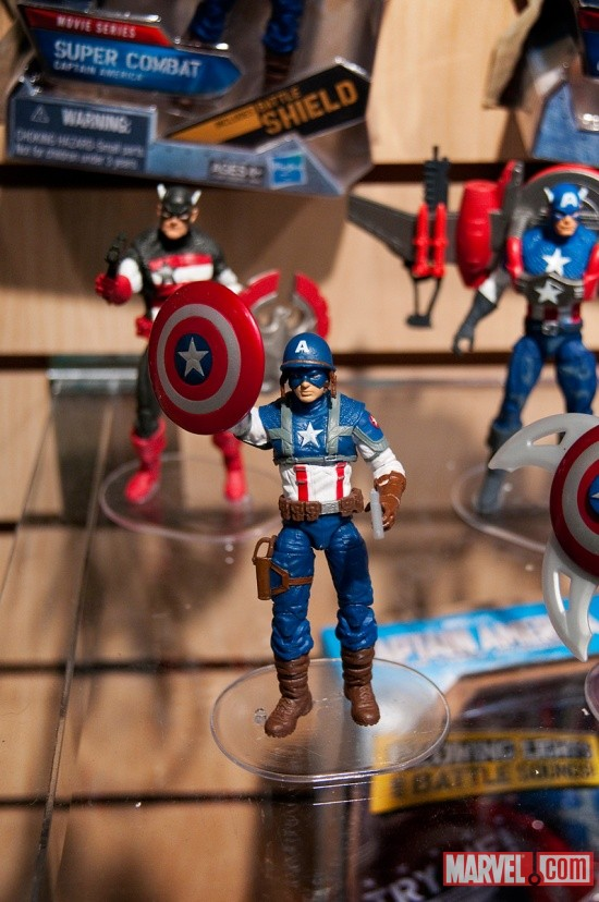 Captain America Action Figures from Hasbro at Toy Fair 2011