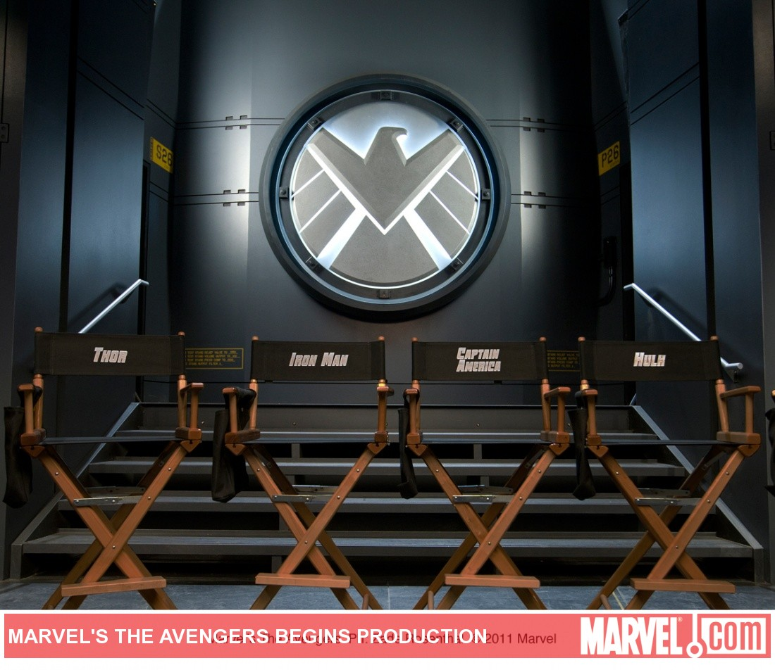 First photo from Marvel Studios' The Avengers movie
