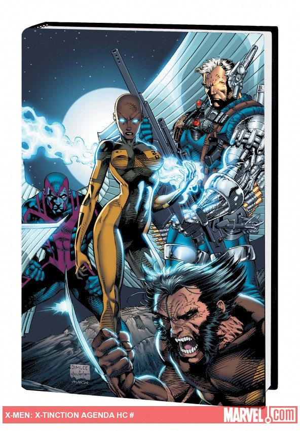 X-MEN: X-TINCTION AGENDA HC