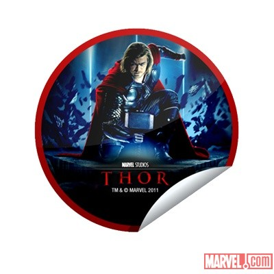 Thor Blu-ray &amp; DVD GetGlue sticker