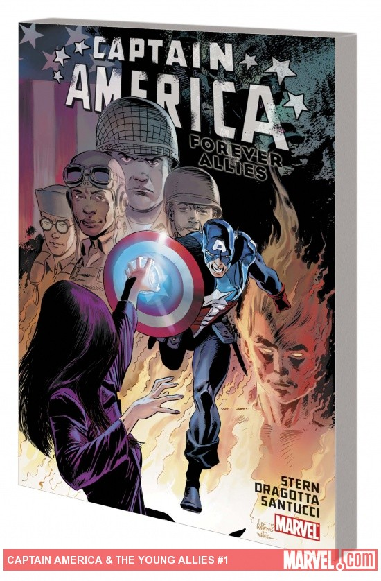 CAPTAIN AMERICA: FOREVER ALLIES TPB