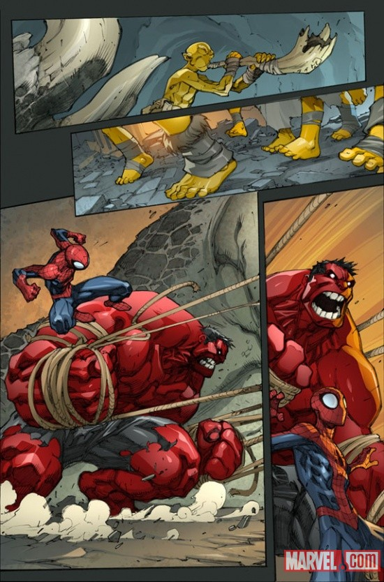 Avenging Spider-Man #2 Preview Art by Joe Madureira