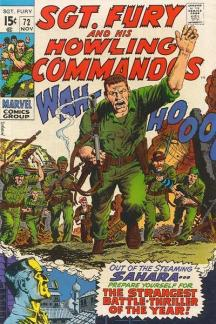 Sgt. Fury and His Howling Commandos (1963) #72