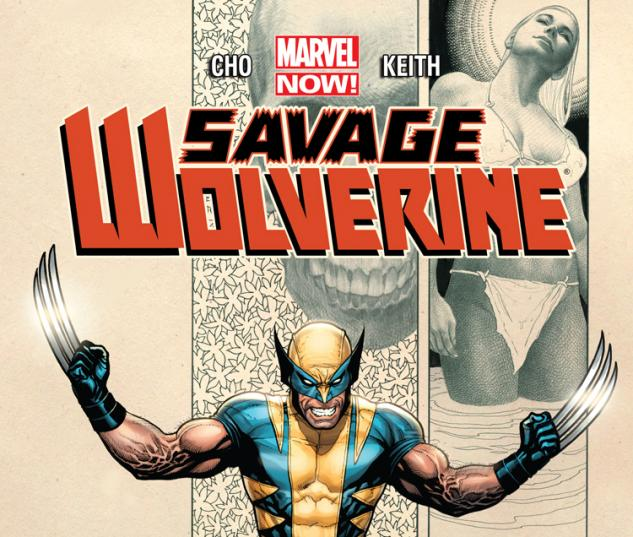 SAVAGE WOLVERINE 4 (NOW, WITH DIGITAL CODE)