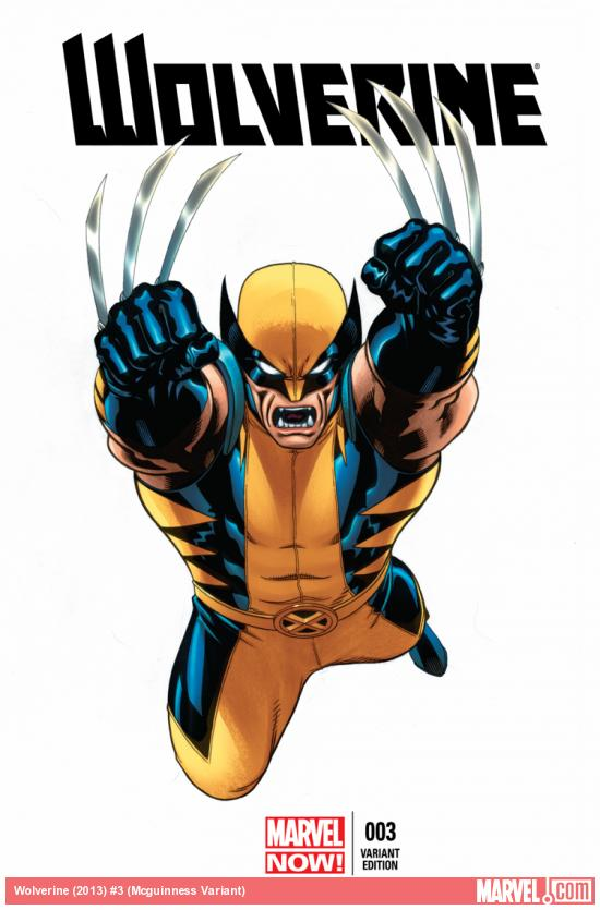 WOLVERINE 3 MCGUINNESS VARIANT (NOW, WITH DIGITAL CODE)