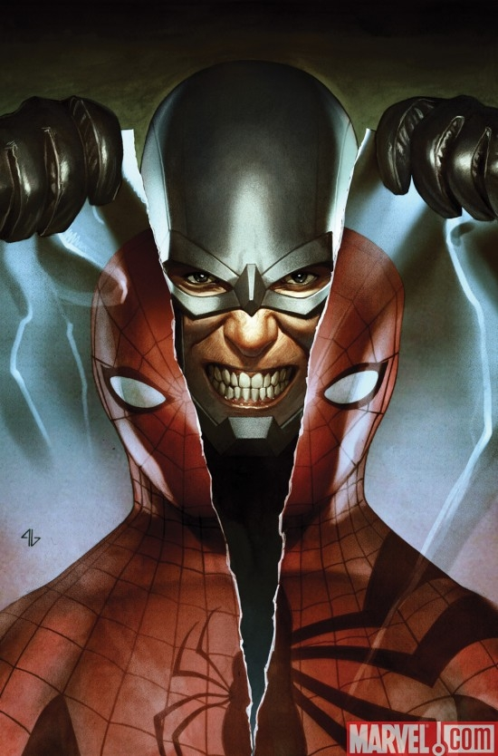 AMAZING SPIDER-MAN #608 cover by Adi Granov