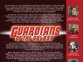 GUARDIANS OF THE GALAXY #15, intro page