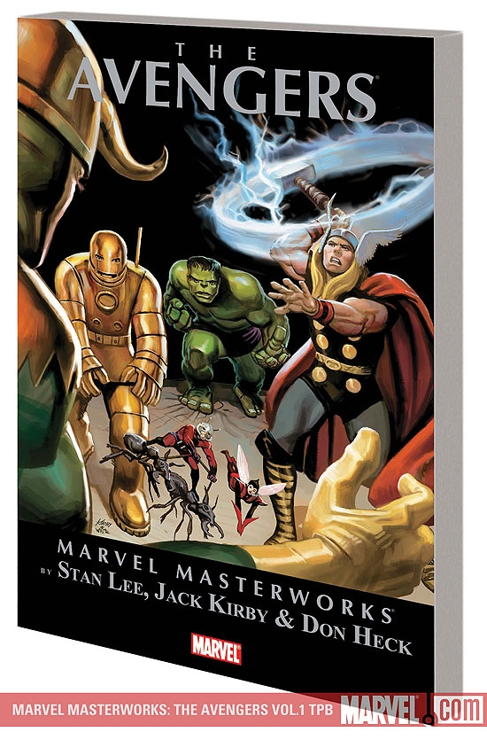 MARVEL MASTERWORKS: THE AVENGERS VOL. 1 TPB #0