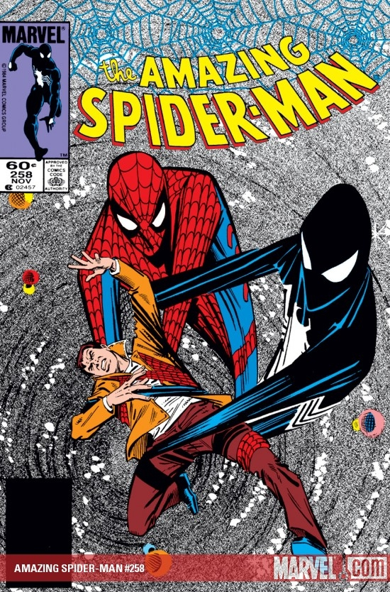 AMAZING SPIDER-MAN #258 COVER