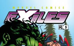 EXILES (2008) #5 COVER