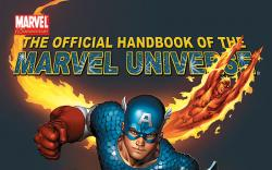 OFFICIAL HANDBOOK OF THE MARVEL UNIVERSE (2005) COVER
