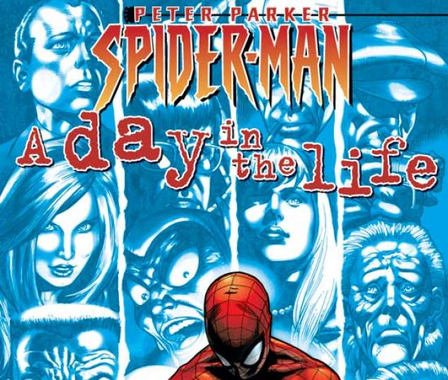 PETER PARKER, SPIDER-MAN VOL. I: A DAY IN THE LIFE TPB COVER