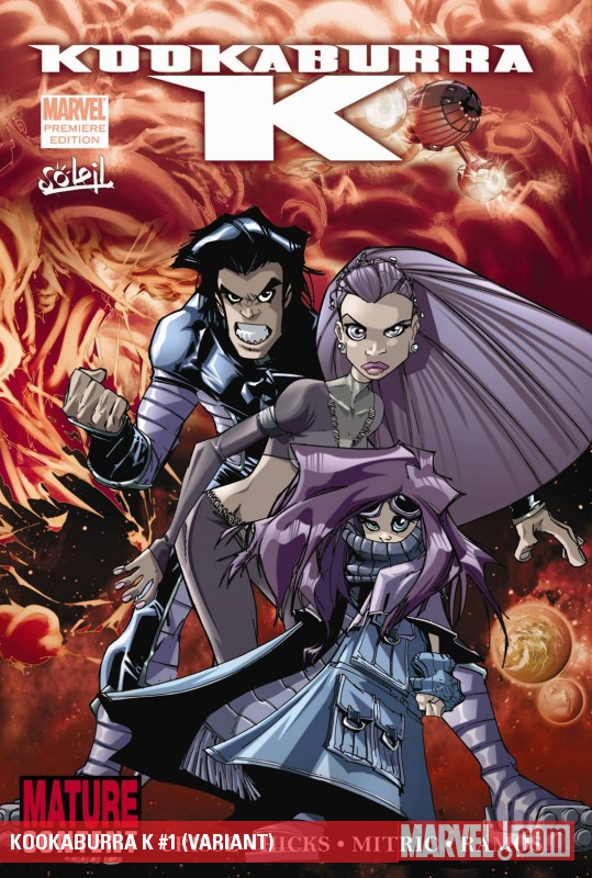 Kookaburra K (2009) #1 (VARIANT)