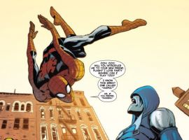 WEB OF SPIDER-MAN #9 preview art by Javier Rodriguez and Sana Takeda
