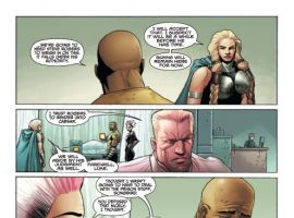 THUNDERBOLTS #146 preview art by Kev Walker
