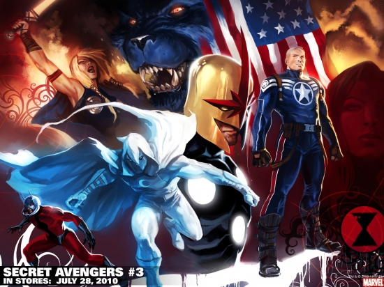 Secret Avengers (2010) #3 (VARIANT) Wallpaper