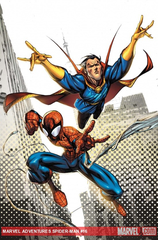 Spider-Man #16 cover