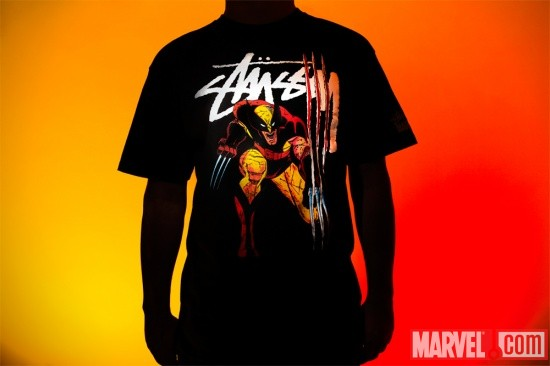 The Stussy x Marvel Project- Wolverine Tee