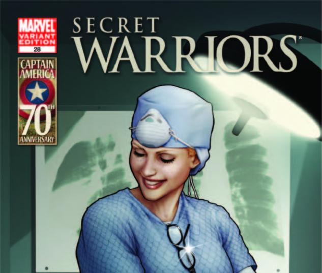 SECRET WARRIORS 28 I AM CAPTAIN AMERICA VARIANT (1 FOR 20)