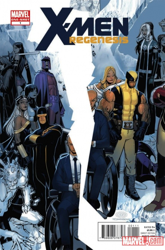 X-Men: Regenesis #1 cover by Chris Bachalo