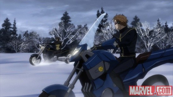 Screenshot from X-Men episode 2